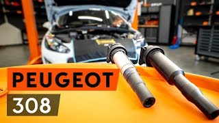 How to change Ignition coil pack on PEUGEOT 308 (4A_, 4C_) - online free video