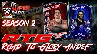 SE VIENE ROMANSITO WM | RTG ANDRE EL GIGANTE WM | WWE SUPERCARD S2 | Chorly