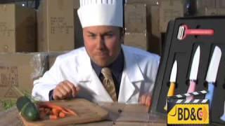 6pc Ceramic Knife Set