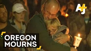 Oregon Mass Shooting: Oregonians Remember Victims And Celebrate Hero Chris Mintz