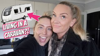 Moving house update!!! Living in a caravan?!?!