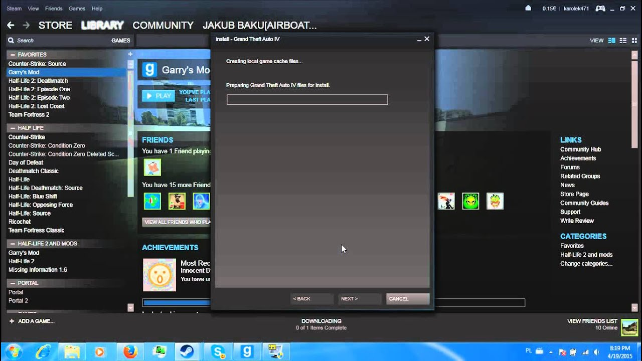 activate gta 5 on steam