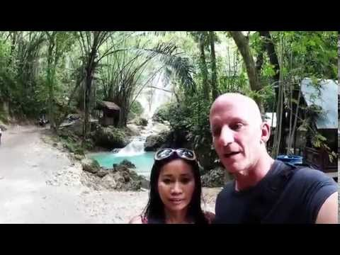 Philippines Expat: Trip to Oslob, the Philippines - Tumalog Falls