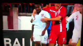 Danny rose gets sent off for being racially abused
