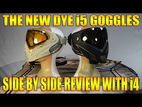 NEW DYE I5 GOGGLES AND COMPARISON TO THE I4'S!!!!