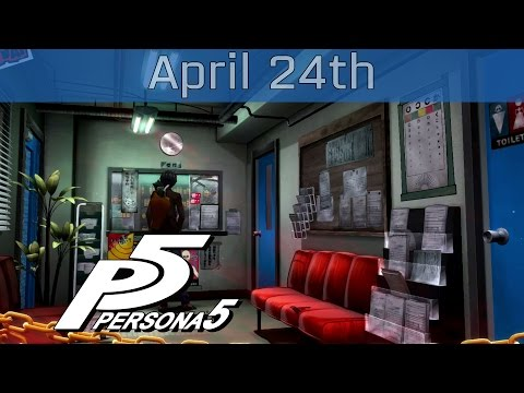 Persona 5 - April 24th: Sunday Walkthrough [HD 1080P]