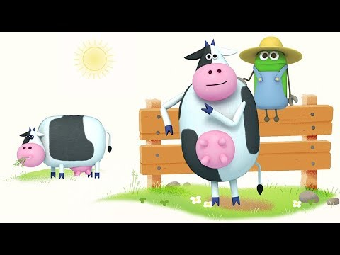 """Cow,"" Songs About Barnyard Animals by StoryBots thumbnail"