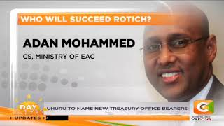 Who will succeed CS Rotich ?