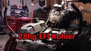 28hp EFI Kohler engine rebuild.Toro z master