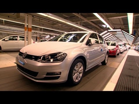 VW Golf Mk 7 Production, Wolfsburg plant, 2013