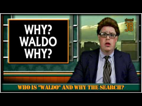"""Channel 38 News [002] 'Mr. Echos & Waldo Found' - Mike Goodpaster's """"Unpaid Programming"""""""