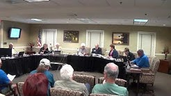 Mount Dora, FL City Council meets Apr. 4, 2017,  to discuss termination of City Attorney