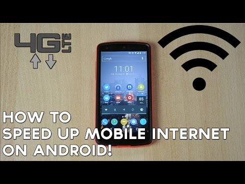 How to Speed Up Mobile Internet on Android!