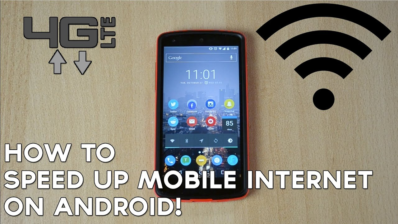 How To Speed Up Mobile Internet On Android Youtube