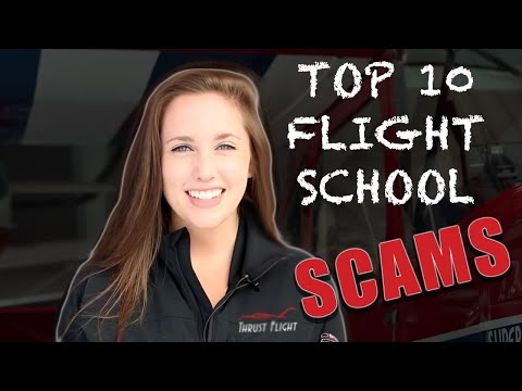 Top 10 Flight School Scams