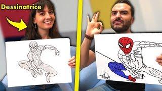 Moi VS une Dessinatrice : dessin challenge vol.2