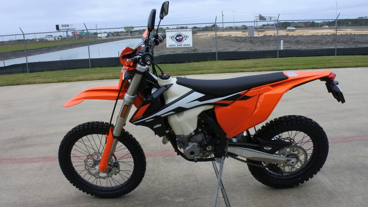 9399 2017 KTM 250 EXC F Dual Sport Overview And Review
