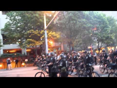 Bottles vs. Bombs - SPD Brutalizing Protesters, Media & Civilians