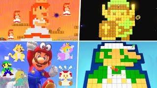 Evolution of Pixel Easter Eggs in Nintendo Games (1996 - 2019)