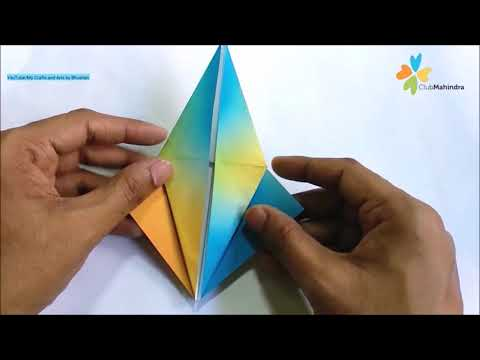Club Mahindra - DIY Origami Crane Art for Fun Family Activities on World Family Day