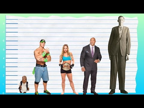 How Tall Is John Cena? - Height Comparison!