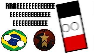 Deutschland geht REEEEEEEEEEEEEEEE auf Brasilien [ROBLOX: Rise of Nations]