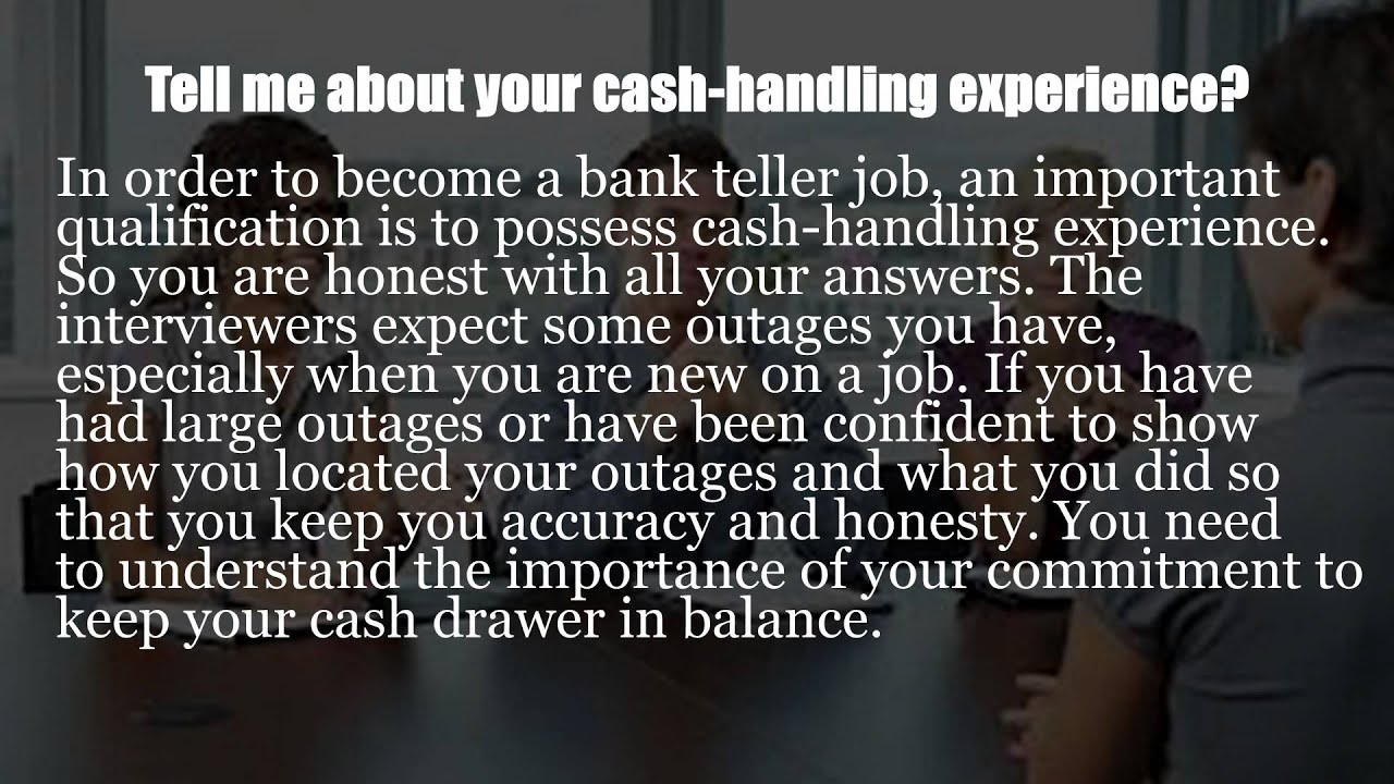 bank phone interview questions
