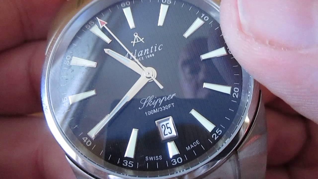 часов атлантик шкипер