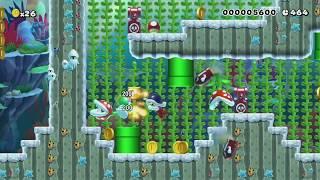 TvxW#3: Escape the Tank of Doom! by Teddy - Super Mario Maker - No Commentary