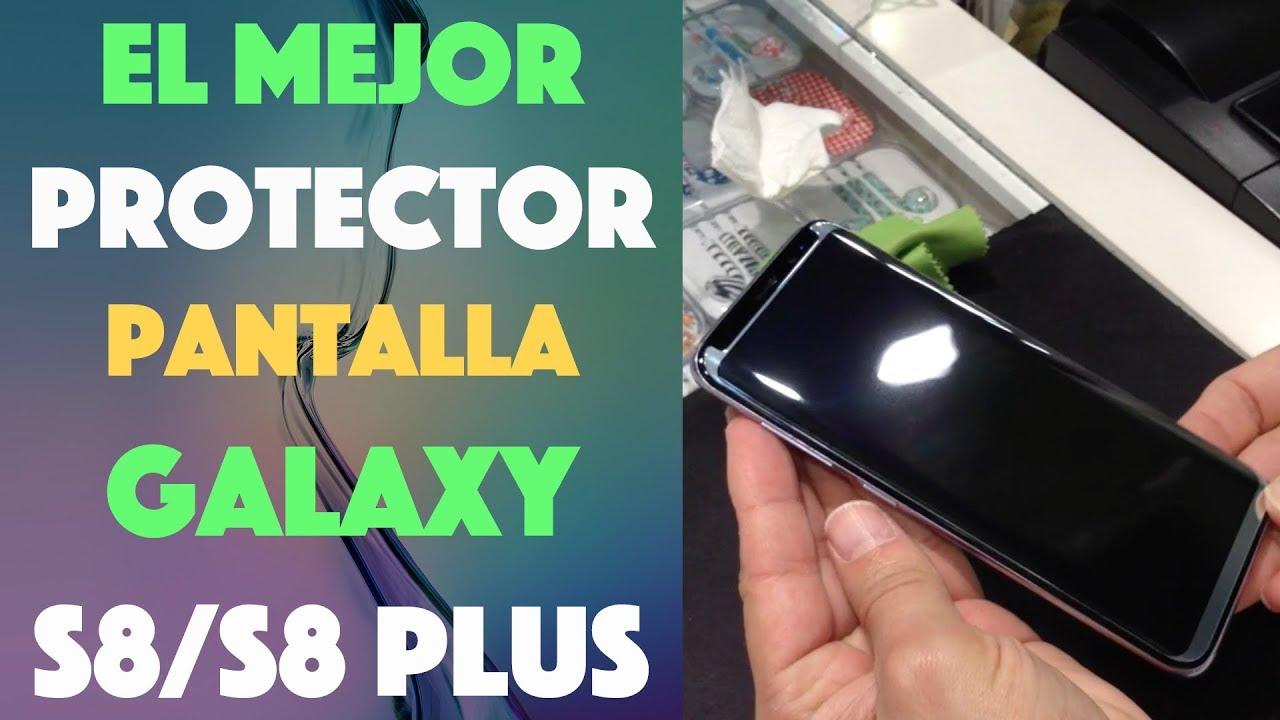 18087290c67 El mejor protector de pantalla para tu【Galaxy S8/S8 Plus】