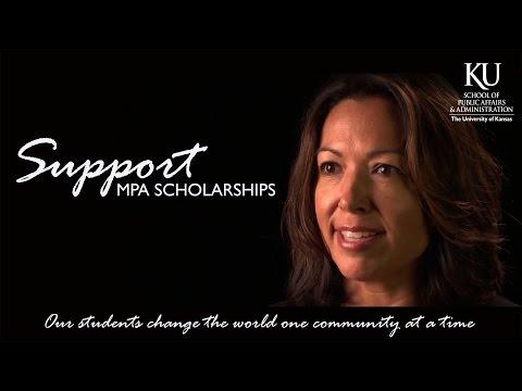 Support KU MPA Scholarships