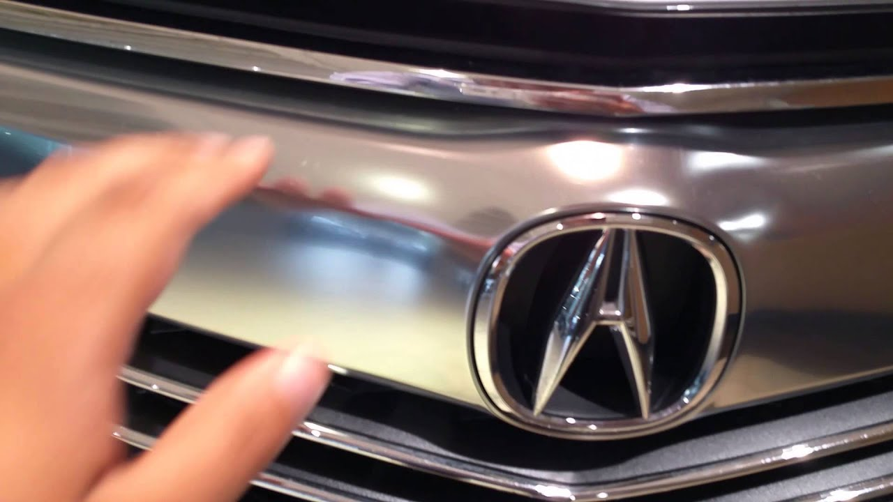 How to open hood on 16 Acura RLX. ms - YouTube