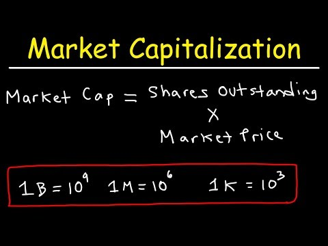 Market Capitalization Of Stocks