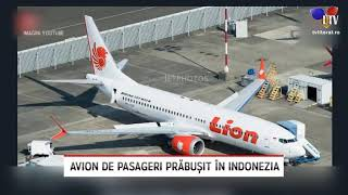 Avion de pasageri prăbușit în Indonezia - Litoral TV