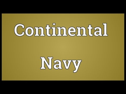 Continental Navy Meaning