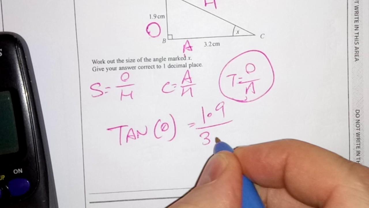 Trigonometry Foundation New GCSE (9-1) Calculator Exam Question
