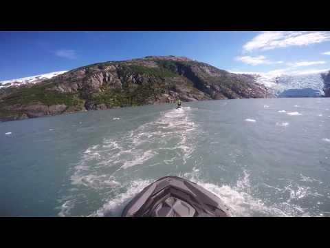 Epic Alaskan Jet Ski Glacier Trip