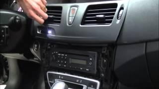 Renault Latitude SM5 Navigation Installation 1