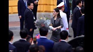 Bước chân thoăn thoắt của cô em gái Kim Jong Un trong sự kiện Thượng đỉnh Mỹ - Triều