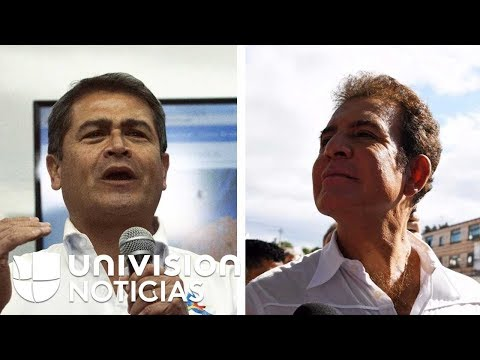 El presidente Juan Hernández y Salvador Nasralla se declaran ganadores de las elecciones en Honduras