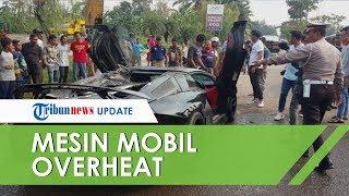 Penyebab Lamborghini Aventador Raffi Ahmad Terbakar di Sentul, Polisi: Mesin Overheat