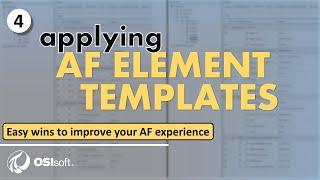 Improve your AF Expeŗience - Applying AF Element Templates