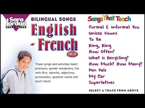 Bilingual Songs | English French | Vol 4
