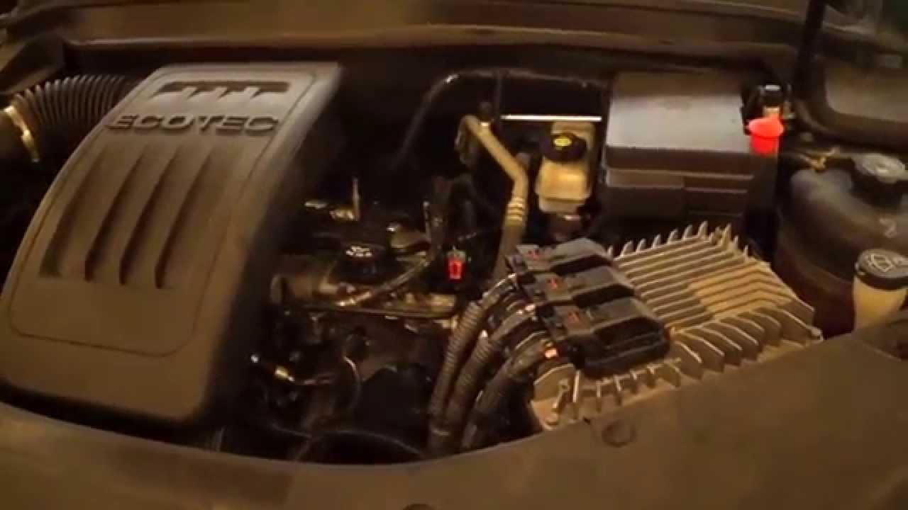 2011 Gmc Terrain Engine Change Pt 2 Youtube