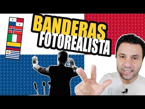 Políticos corruptos Panamá - BANDERAS FOTO-REALISTAS