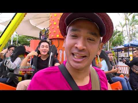 BROWNIS - Anwar & Crew Mual-Mual Setelah Naik Wahana 360 Pendulum DiI Jatim Park (7/10/18) Part 2