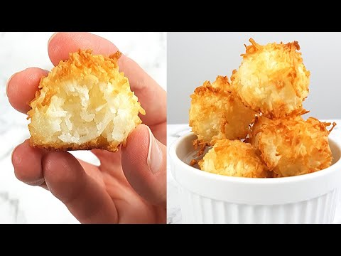 3-Ingredient Keto Coconut Macaroons (0.6g net carbs!)