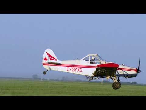 Aerial Spraying & Crops - Jason LeBlanc Farm
