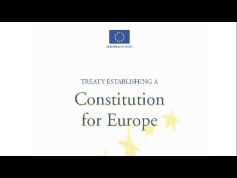 CONSTITUTION FOR EUROPE (1) - Part I Title I-II-III article I 1-11.m4v