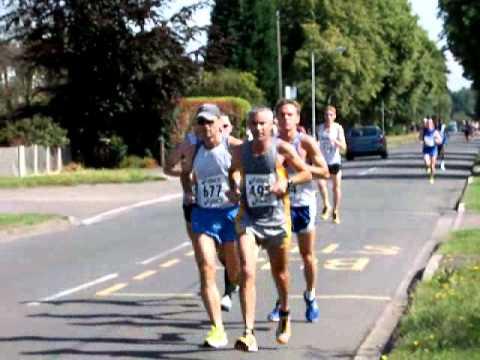 Newark-On-Trent, Nottinghamshire.  Half Marathon